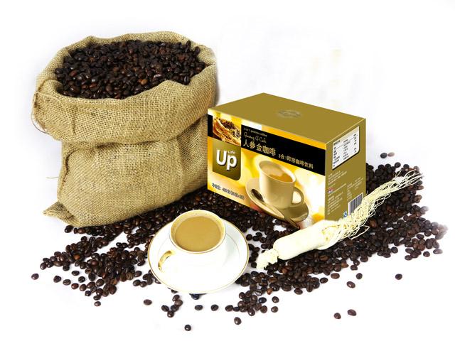 UP人参金咖啡